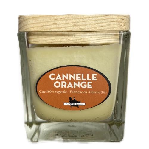 Bougie Végétale Cannelle Orange