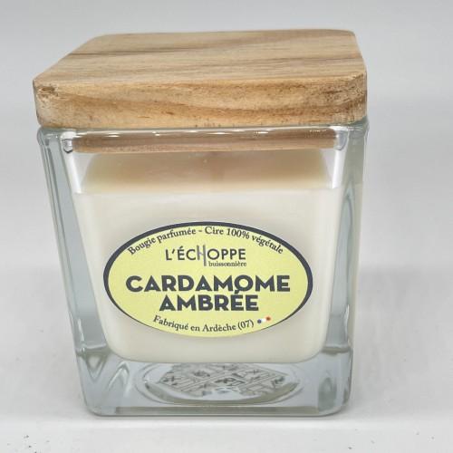 Bougie Végétale Cardamome Ambrée